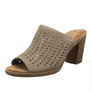 Toms Majorca Suede Perforated Leaf